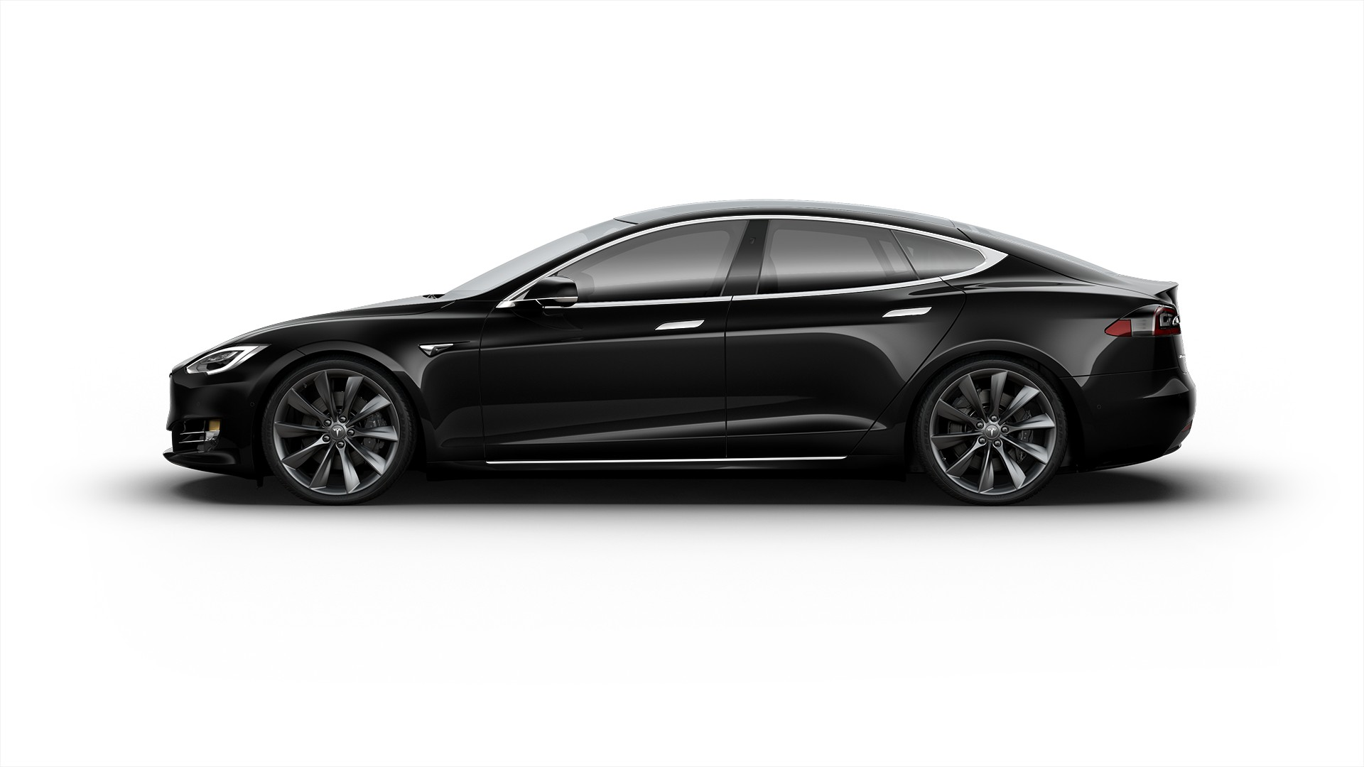 2017 tesla model s 100d obsidian black metallic paint vin. Black Bedroom Furniture Sets. Home Design Ideas