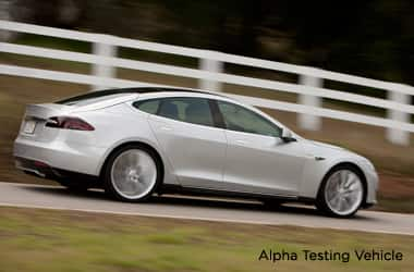 Model S Alpha Vehicle