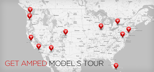 Inside Tesla Tesla - Canada 3d maps on us tesla