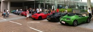 Roadster Owner Rally in Hong Kong