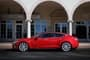 Model S in Red, Palos Verde, California