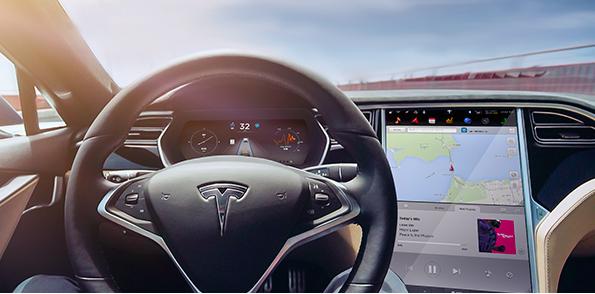 Test drive a tesla