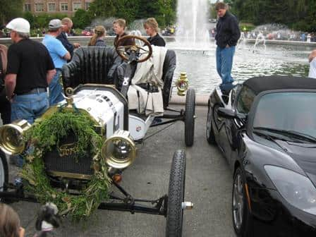 Roadster with a Model T