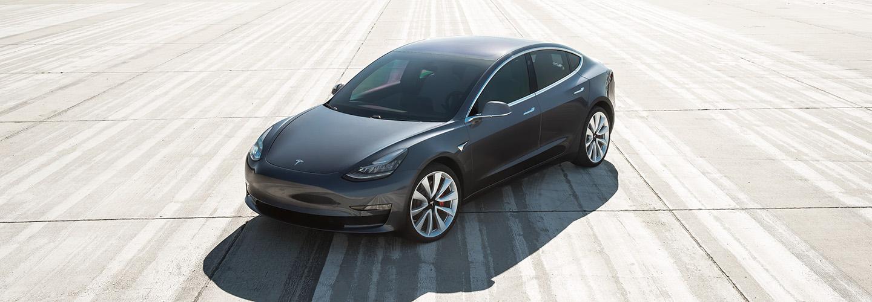 Model 3 on tour hero