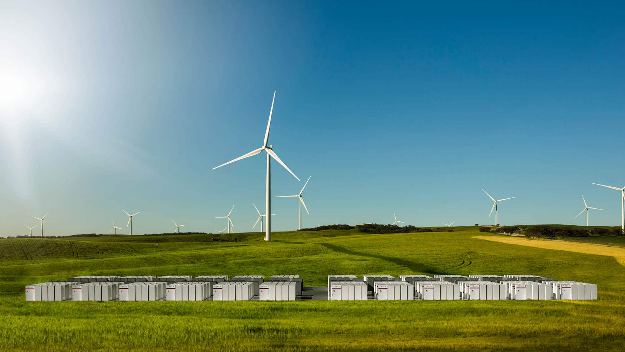 tesla powerpack to enable large scale sustainable energy to south