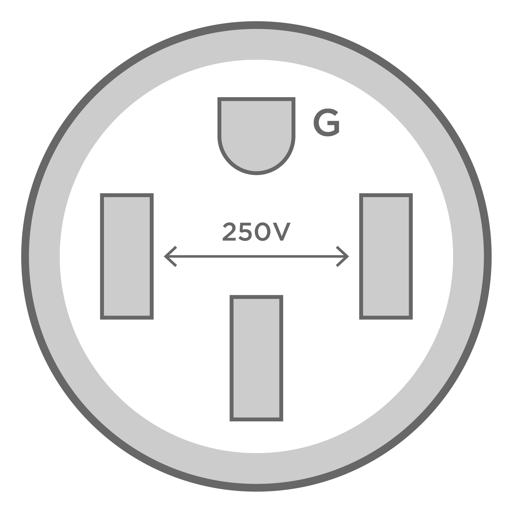 240 volt / 50 amp breaker (outlet installation guide) the most common 240  volt outlet for tesla charging, four wire configuration