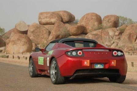 Roadster at Devil