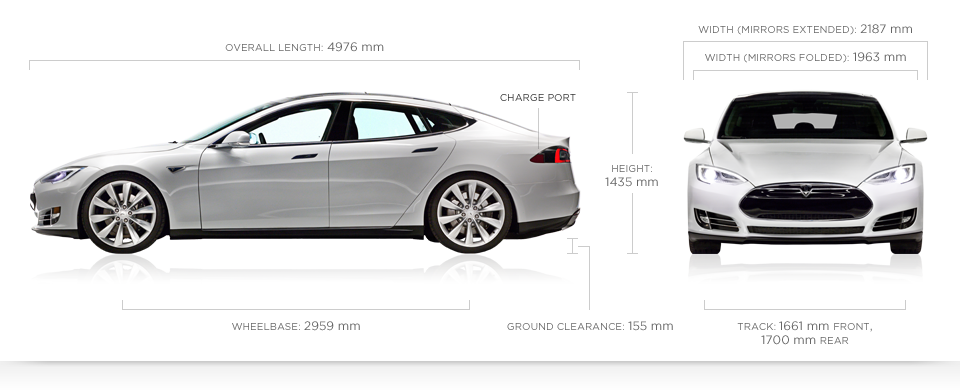 Model S Specifications
