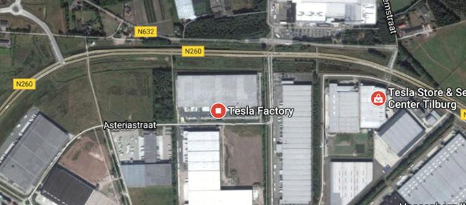 map-tesla-tilburg-factory