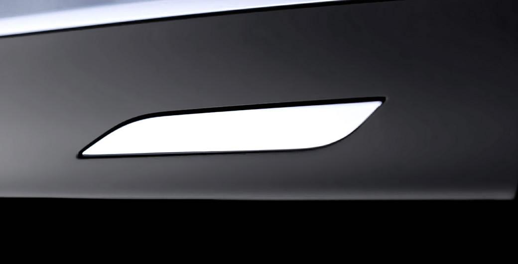 tesla السيارة الكهربائية 100 بالمئة  Door-handles-black