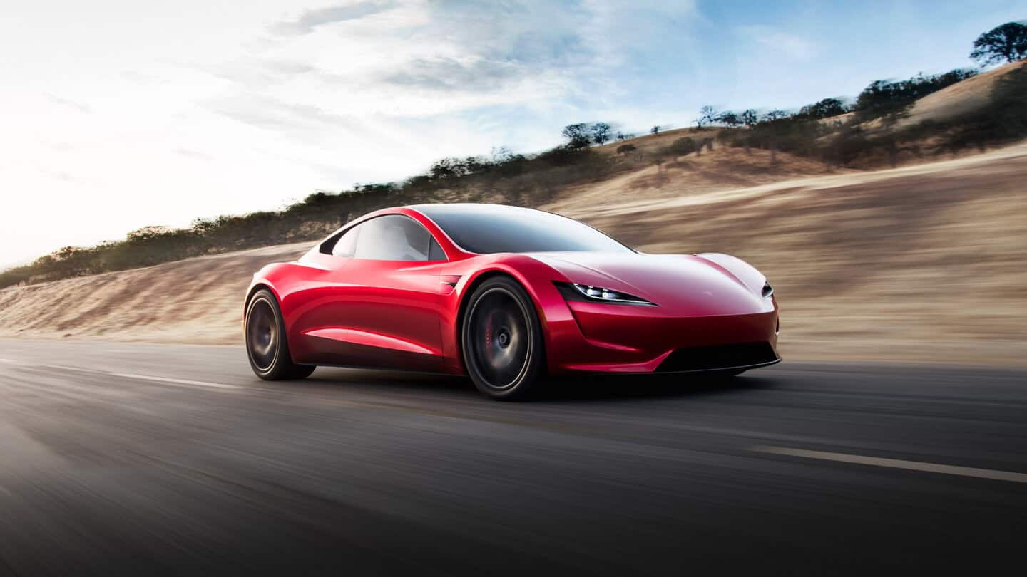 The Tesla Roadster 2020
