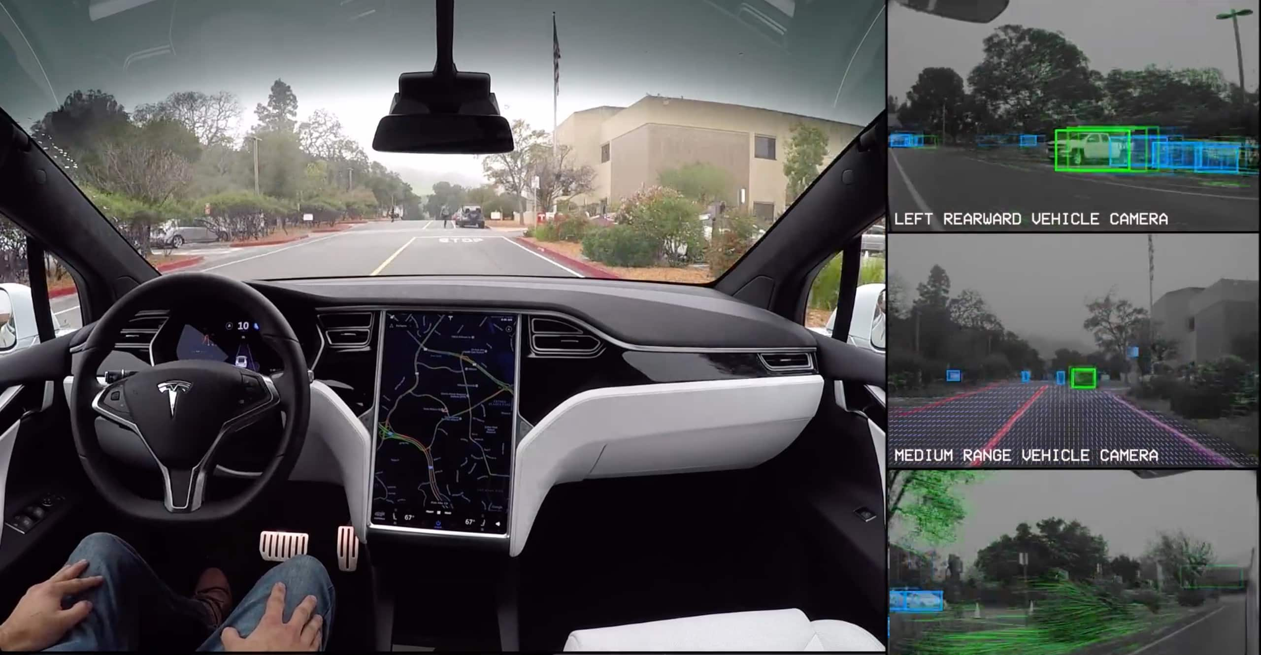 Tesla Self-Driving Demonstration | Tesla UK