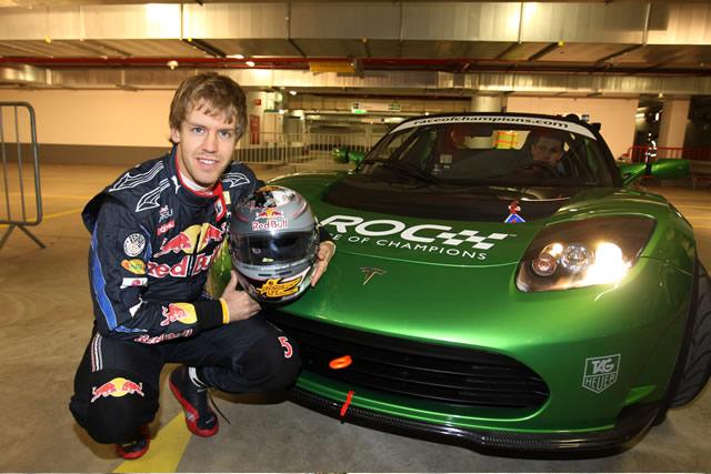 2010 F1 Champion Sebastian Vettel
