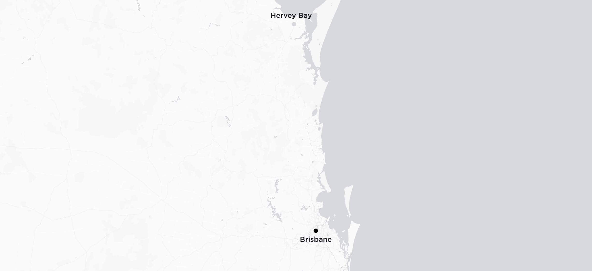 Brisbane to Hervey Bay