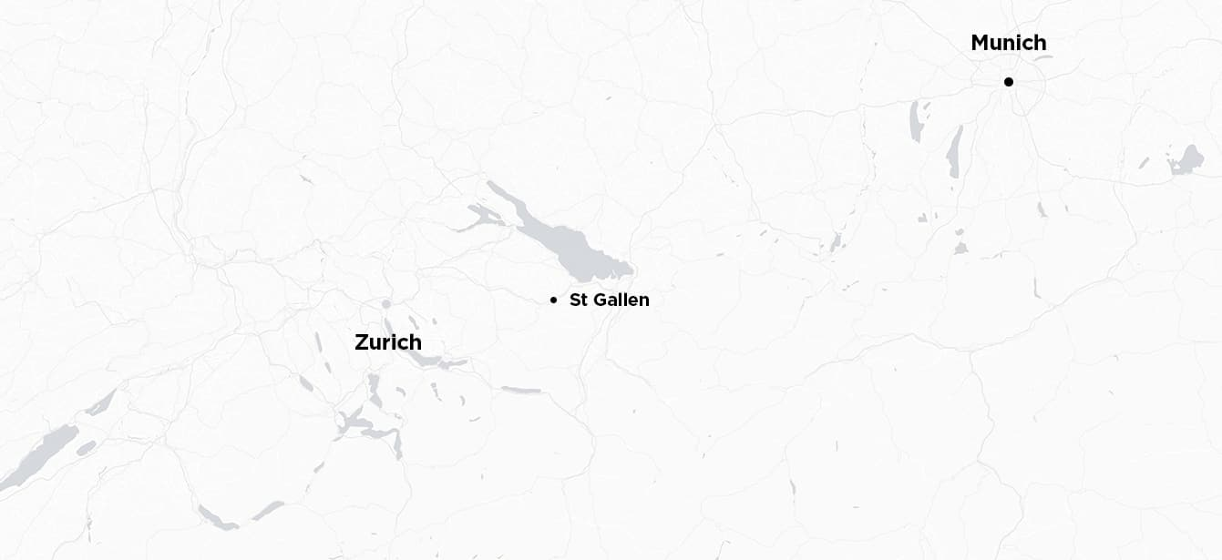 Munich to Zurich
