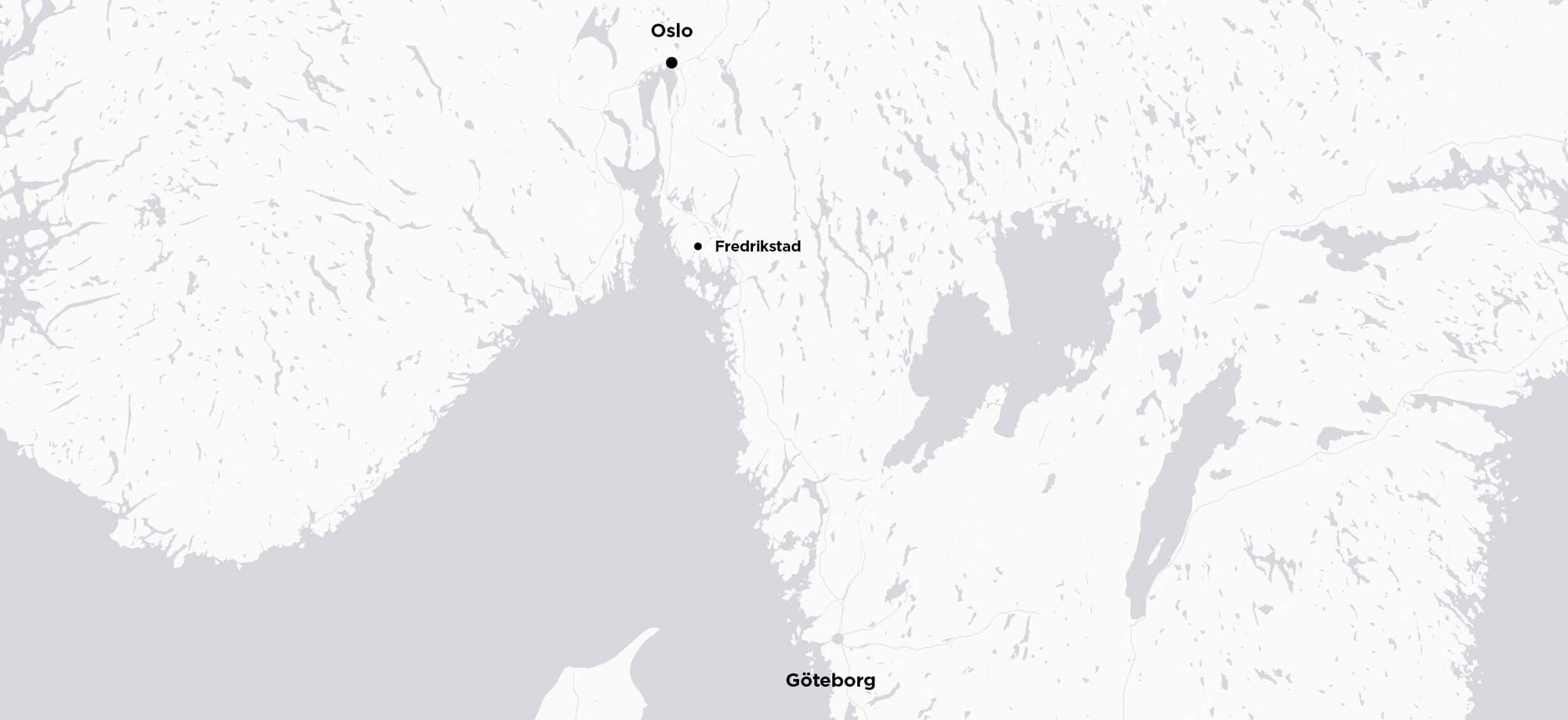 Oslo to Gothenburg