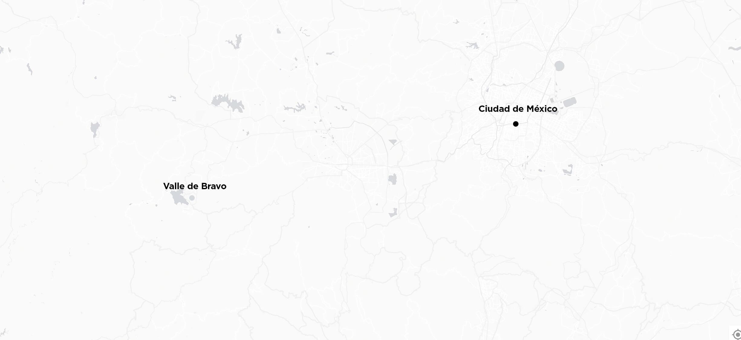 De Ciudad de México a Valle de Bravo