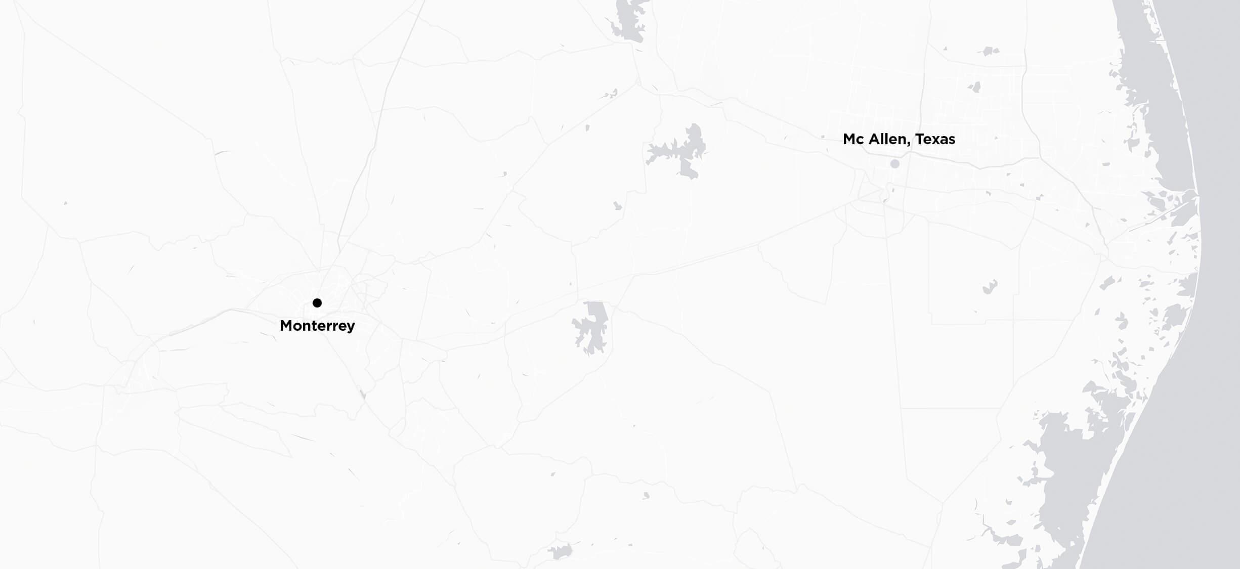 De Monterrey a McAllen, TX
