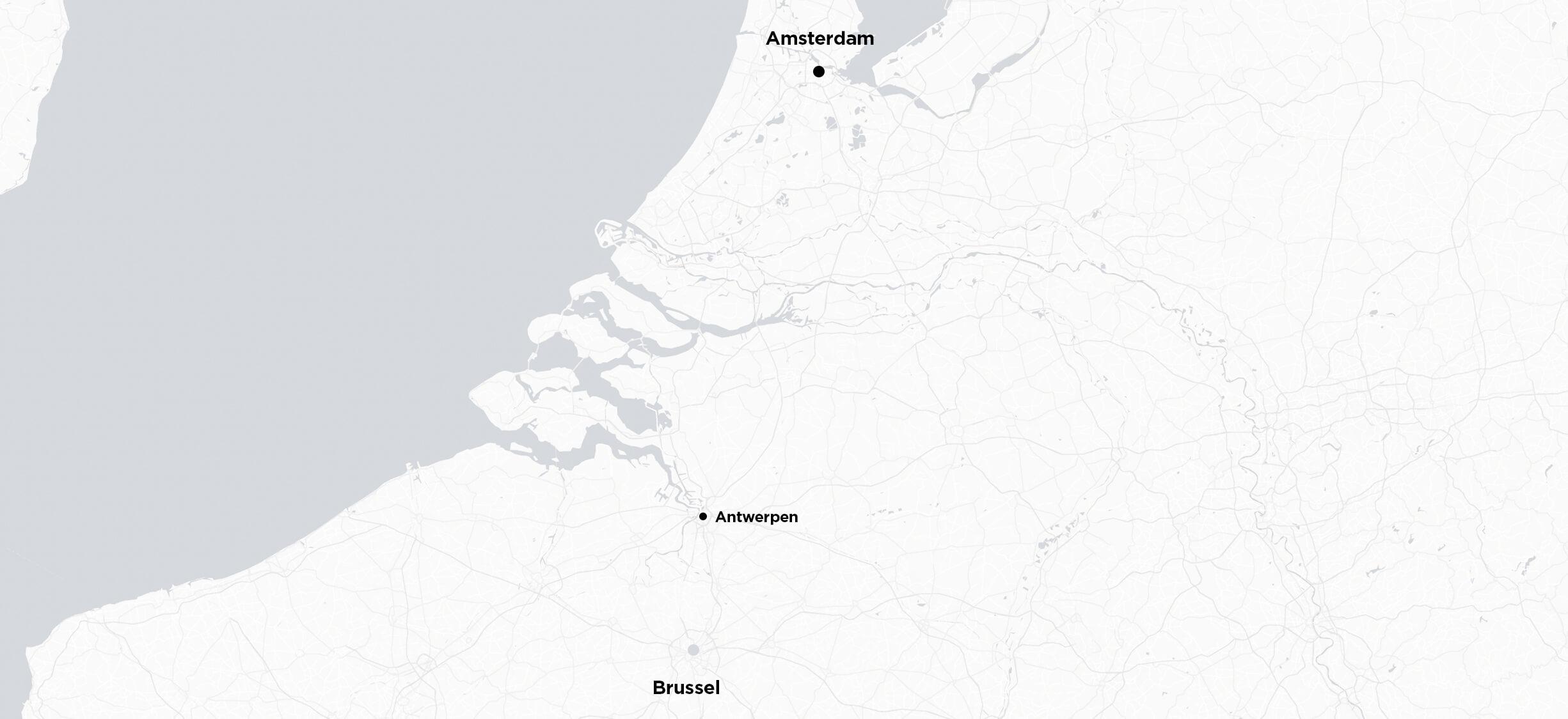 Amsterdam  til Brussel