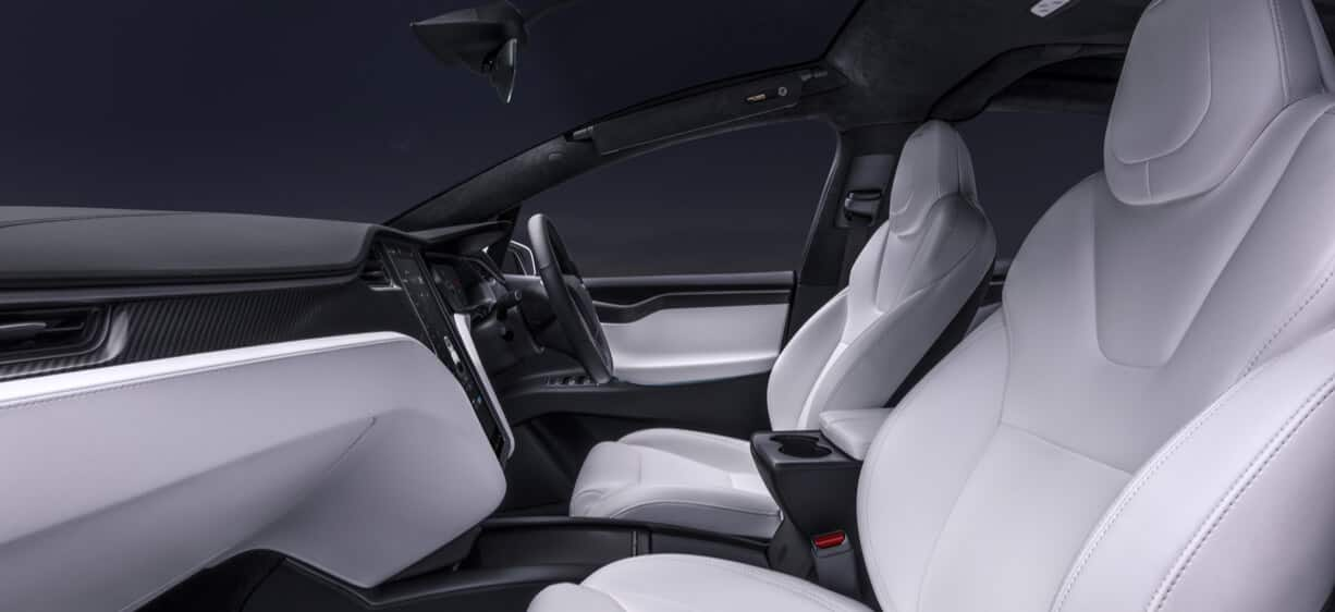RHD Model X Interior View