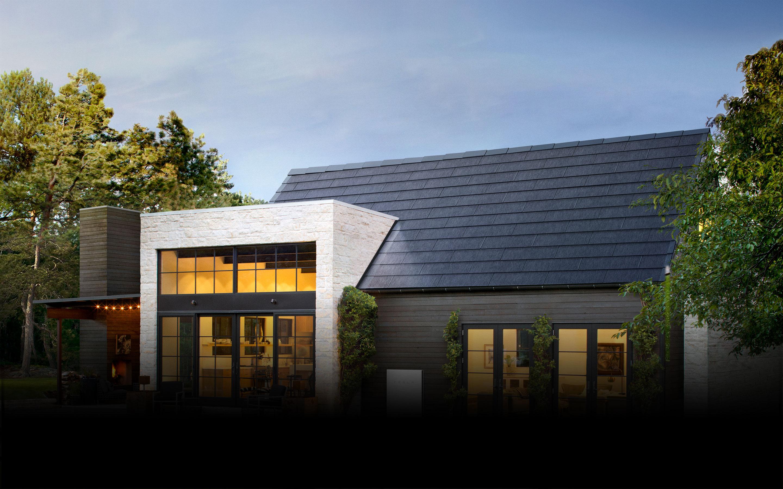 Tesla Roof Shingles >> Solarglass Roof Tesla
