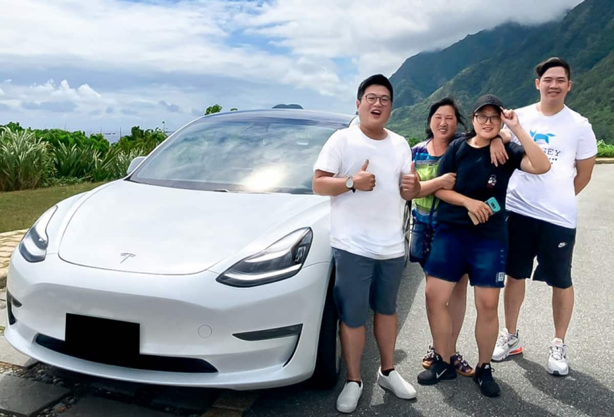 Holidays with Tesla