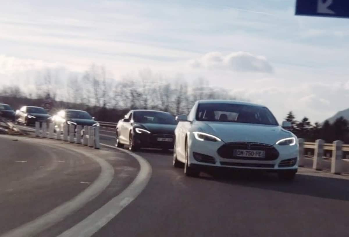 Tesla Model S Rally in France: Senlis to Mâcon