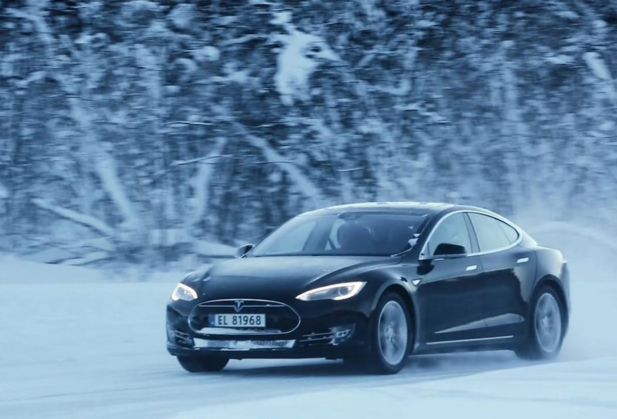Tesla Winter Experience