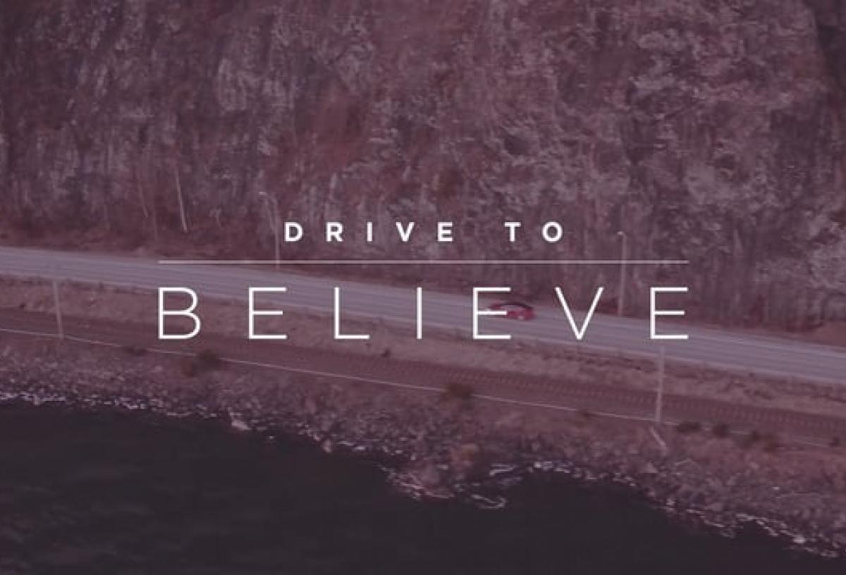 Tesla Drive to Believe Norway EN