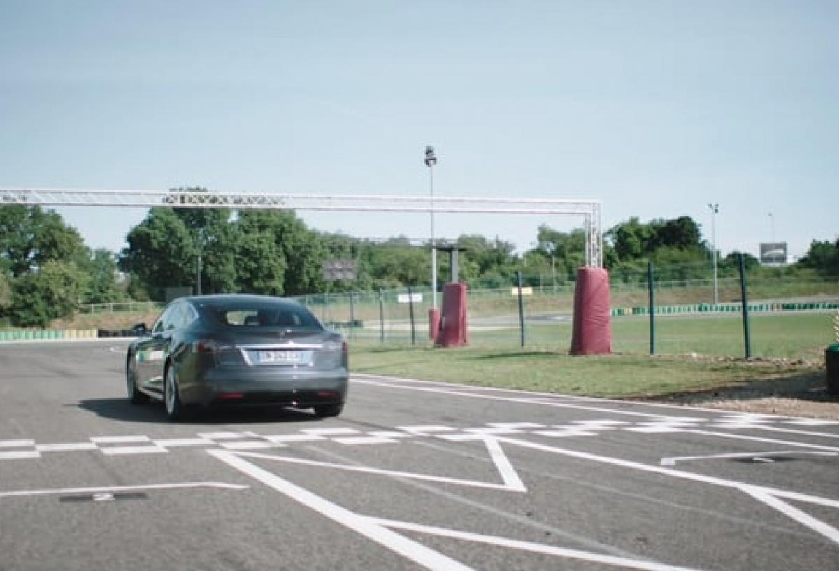 Probefahrt Model S