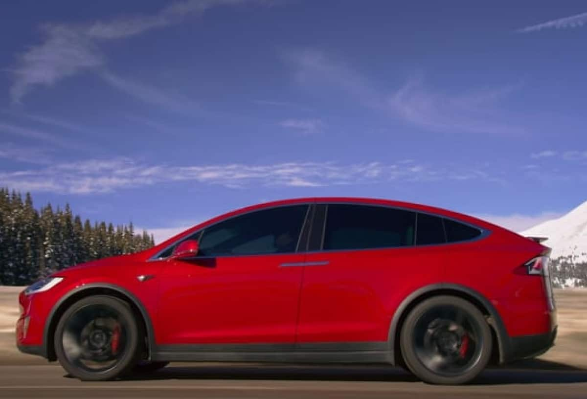 Model X Test Drive