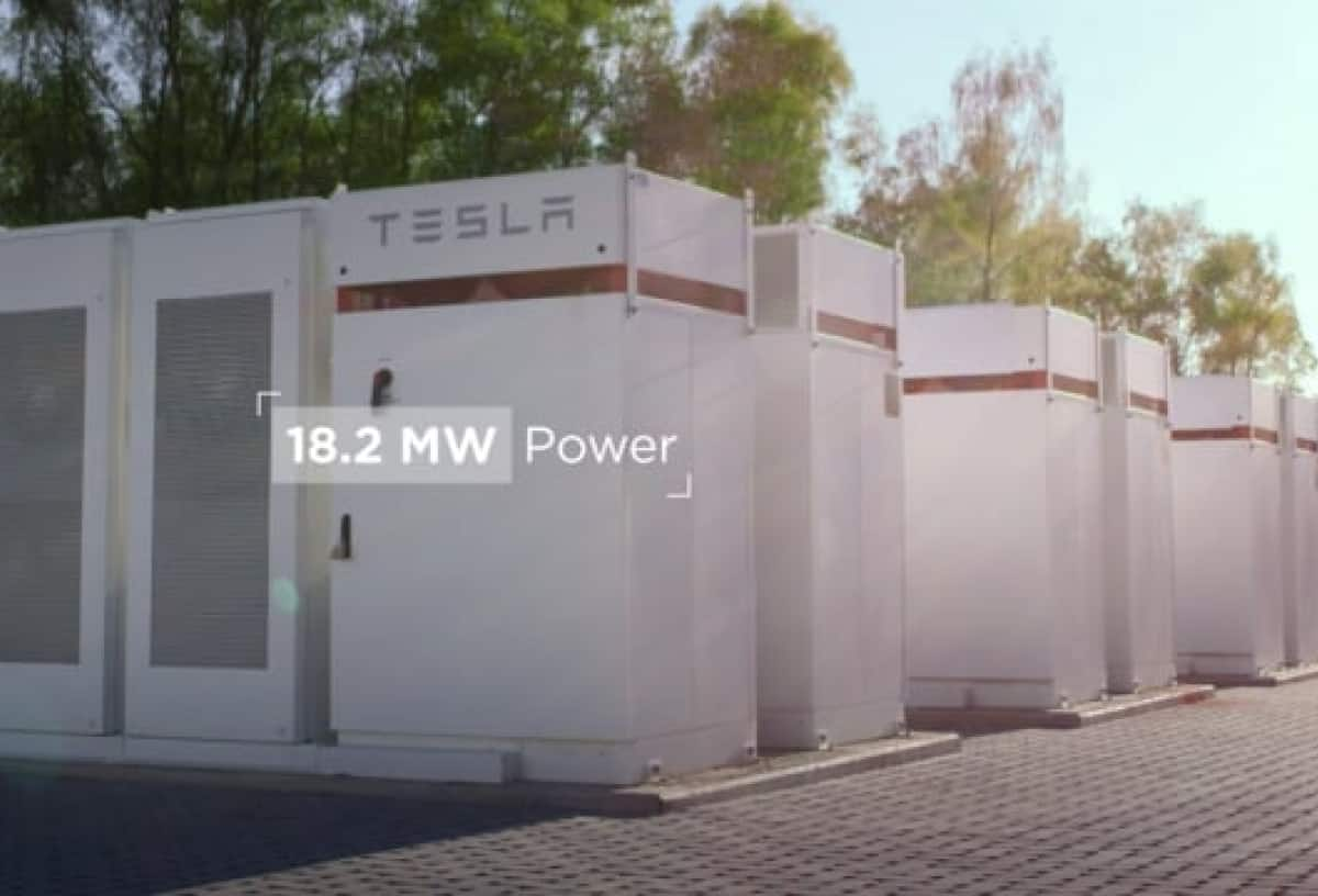 Tesla Powerpacks Balancing the Grid in Terhills, Belgium