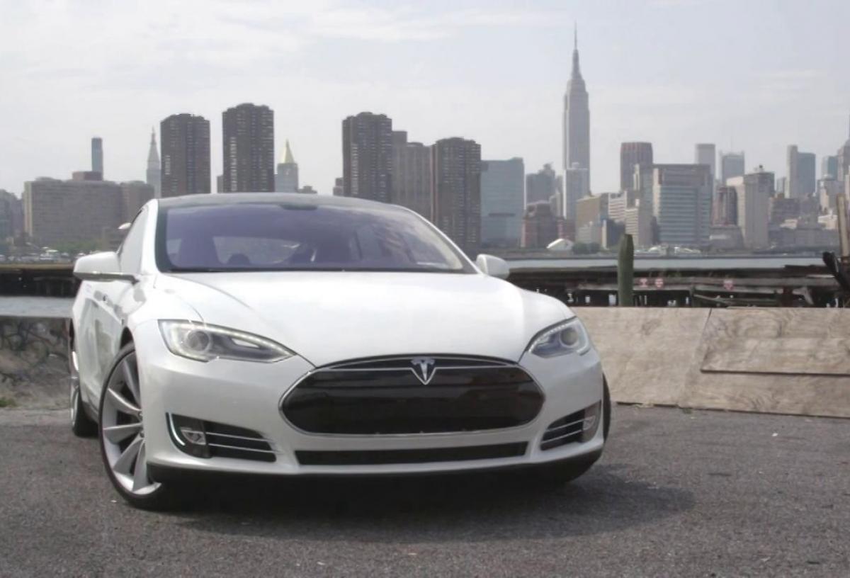 New York Meets Model S