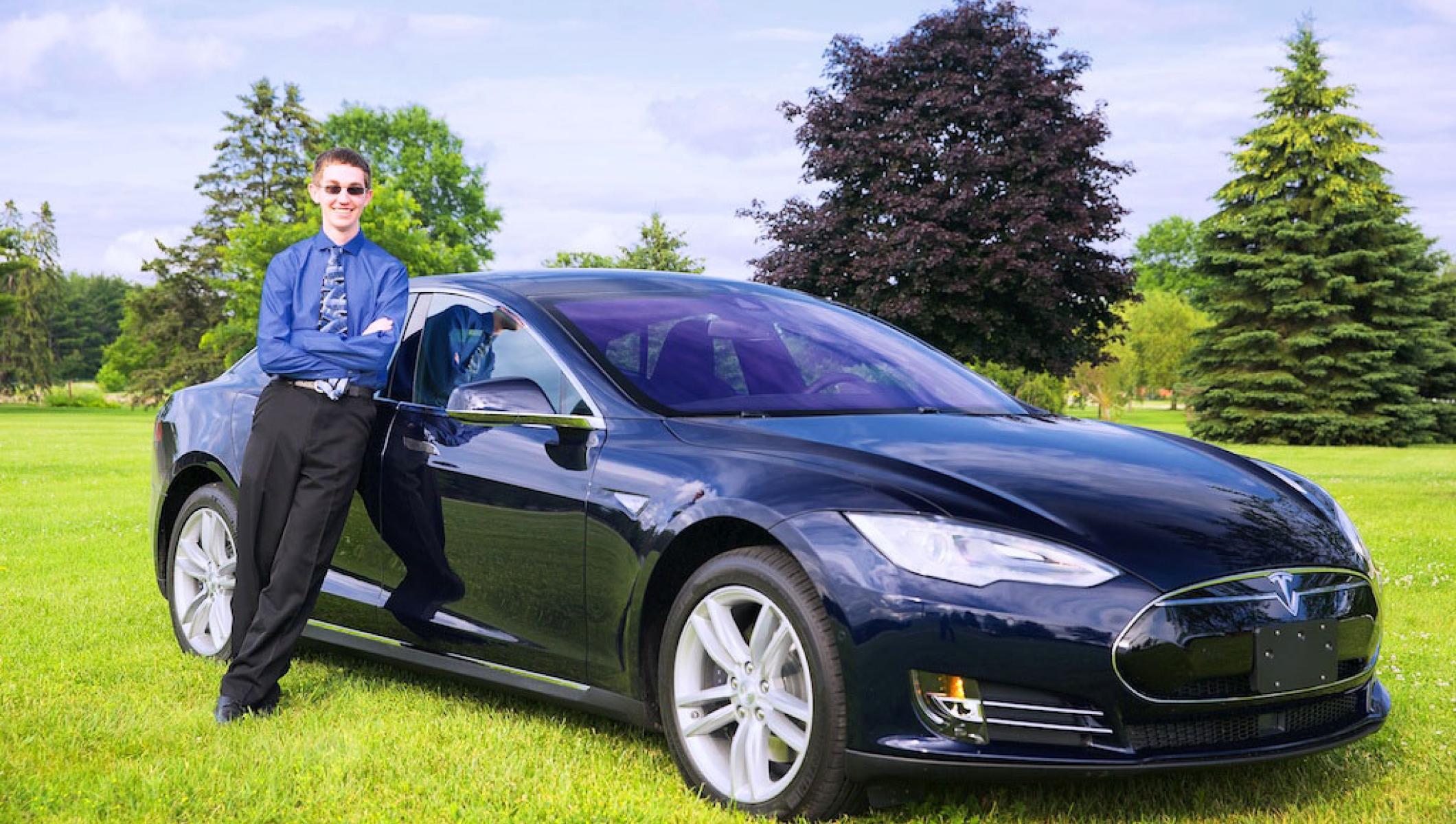 Dream Comes True For 17 Year Old Tesla Investor Tesla