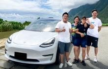 Holidays with Tesla