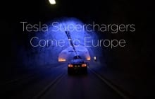 Tesla Superchargers Come to Europe
