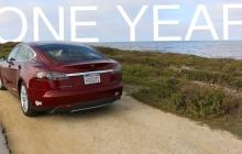 Ein Jahr: Tesla Model S