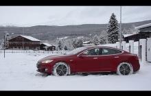 Tesla Model S 客戶案例 - 挪威冬駕遊