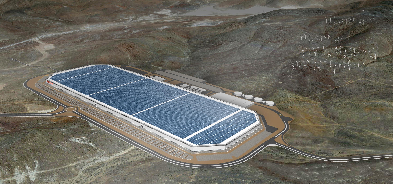 Tesla Gigafactory Tesla