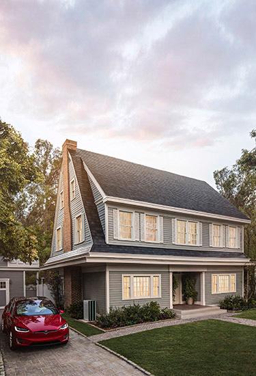 太陽能屋頂 Solar Roof