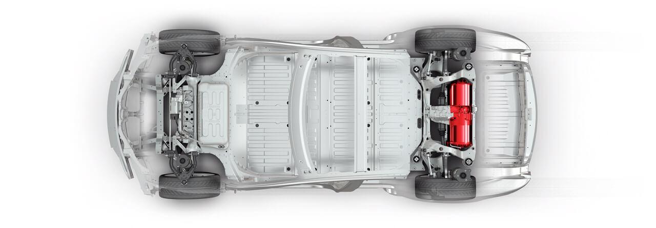 Model S - enkele motor