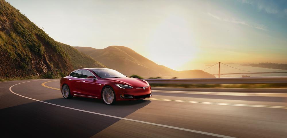 Model S Drive Hero