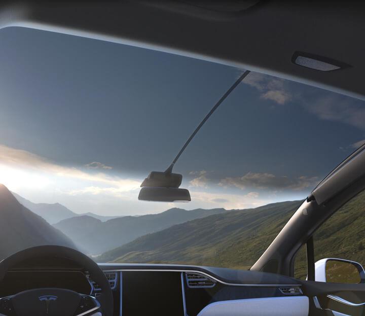 Model X Big Sky