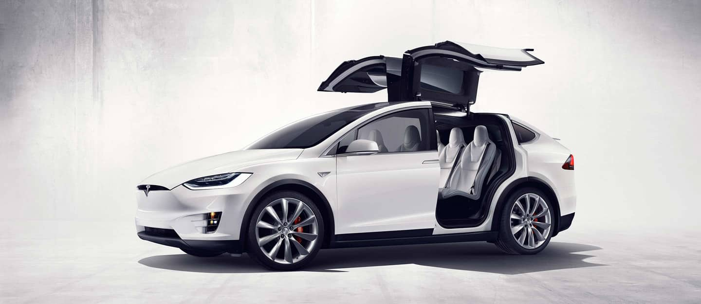 Image result for white tesla model x