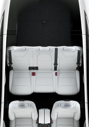 Five Seat Interior