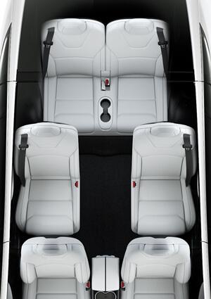 Six Seat Interior