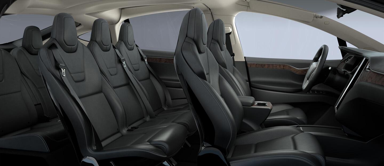 Model X Black Interior