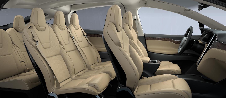 Model X Tan Interior