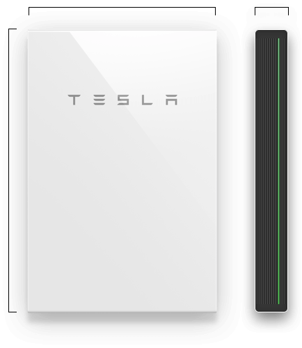 Tesla Wall Battery >> Powerwall The Tesla Home Battery